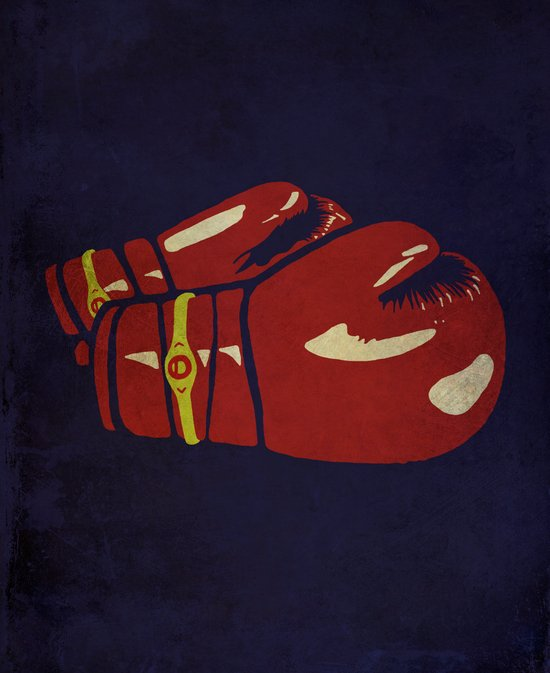 Power Boxing Art Print