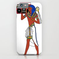 iPhone & iPod Case featuring Rock Like an Egyptian by PostersforNerds