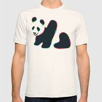Composite Panda Mens Fitted Tee Natural SMALL