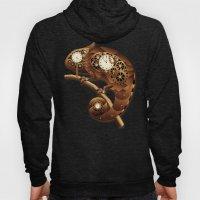 Steampunk Chameleon Vintage Style Hoody