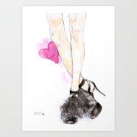 Jimmy Choo Art Print