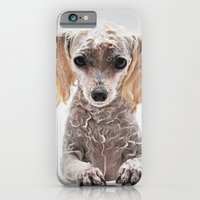 Bath Time for Rylie  (poodle) iPhone 6 Slim Case
