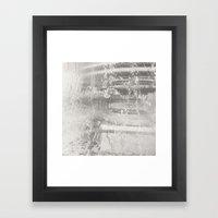 Falling Hard Framed Art Print