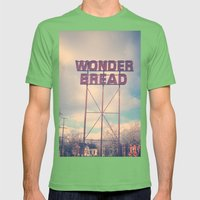 Always Wonder Mens Fitted Tee Grass SMALL