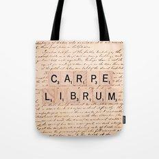Carpe Librum [seize the book] Tote Bag