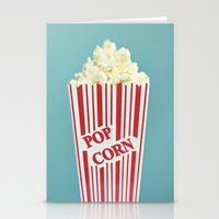 Pop Corn Stationery Cards