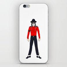 Surgical Mask - Jackson Michael iPhone & iPod Skin