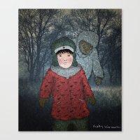 Посмотри! Йет… Canvas Print
