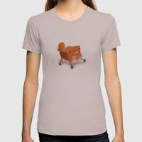 Box in a Fox Womens Fitted Tee Cinder SMALL
