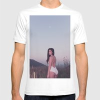 Emily in Colorado Mens Fitted Tee White SMALL