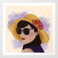 Verão Art Print