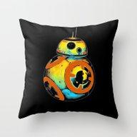 Pop BB-8 Throw Pillow