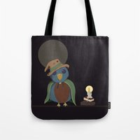 Wizard Bird Tote Bag