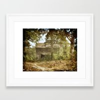 Barely There Framed Art Print