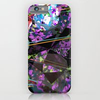 iPhone & iPod Case featuring GeoLazer by AJJ ▲ Angela Jane Johnston