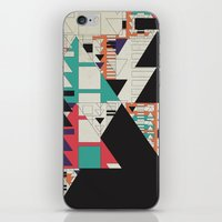 play stop pause rewind iPhone & iPod Skin