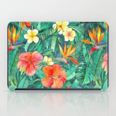Classic Tropical Garden iPad Case