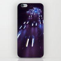 (purp)xSTREETZ(2) iPhone & iPod Skin
