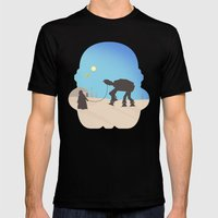 Darth Pet-Pet Mens Fitted Tee Black SMALL