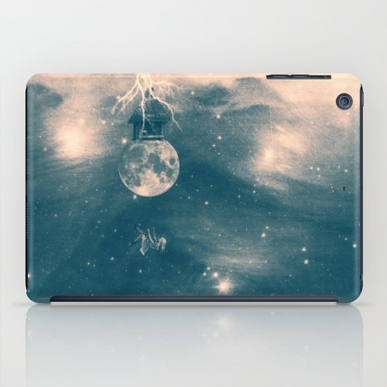 One Day I Fell from My Moon Cottage... iPad Case