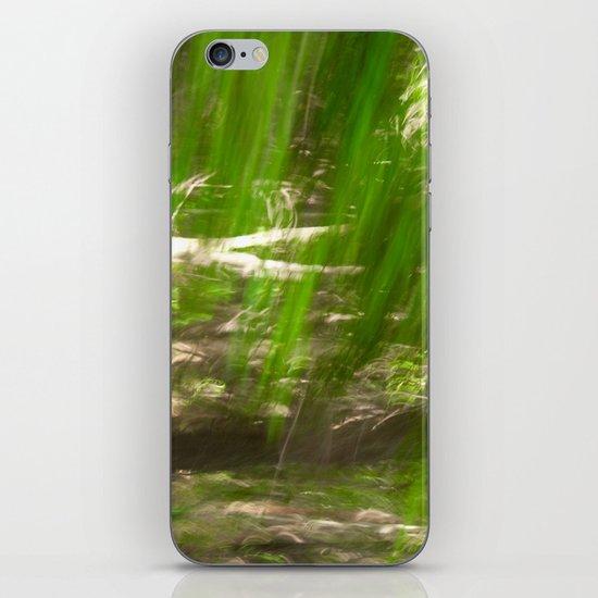 Green Feathers iPhone & iPod Skin
