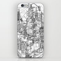 San Francisco! (B&W) iPhone & iPod Skin