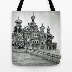 St. Petersburg, Russia Tote Bag