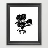For Reel Framed Art Print