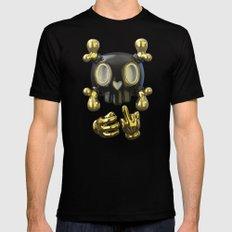 Crossbone SkullToon Black SMALL Mens Fitted Tee