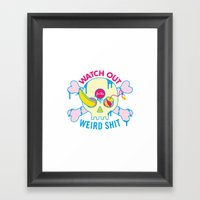 HELPFUL LIFE ADVICE Framed Art Print
