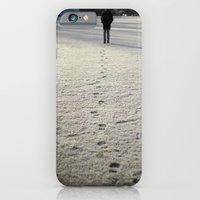 iPhone & iPod Case featuring Trace in Snow by Frederic Streminski