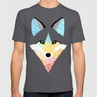 T-shirt featuring Fox Multicolor by Art Et Be