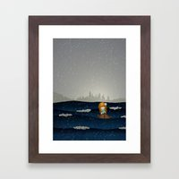 Cicily To The Sea Framed Art Print