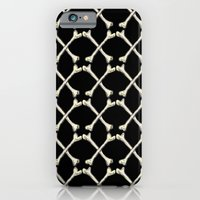 iPhone & iPod Case featuring Crossbones by Mariah Williams
