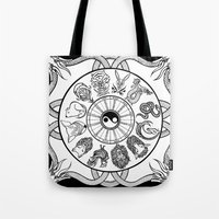 Chinese Zodiac Tote Bag