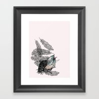 Birdster Framed Art Print
