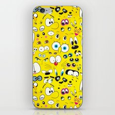 Cartoon iPhone & iPod Skin