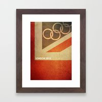 Olympics London 2012 Framed Art Print