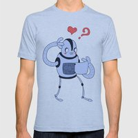 Heartless?  Mens Fitted Tee Athletic Blue SMALL
