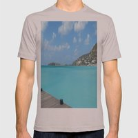 St. Maarten Mens Fitted Tee Cinder SMALL
