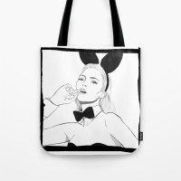 Kate Moss Bunny Tote Bag