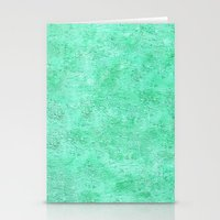 Jade Texture Stationery Cards