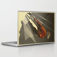 Laptop & iPad Skin featuring The Star-Lord by The Art of Danny Haas