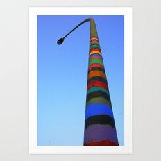 Vertical Art Art Print
