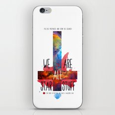 :: BE PREPARED AND DON´T BE SCARED ;) iPhone & iPod Skin