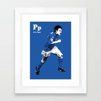 P is for Pippo Framed Art Print