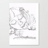 Freja Canvas Print