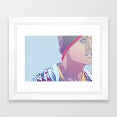 Down (Jesse Pinkman - Breaking Bad) Framed Art Print