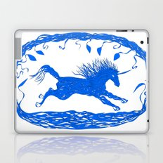 Blue Unicorn 02 Laptop & iPad Skin