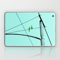 Love Birds Geometry Laptop & iPad Skin